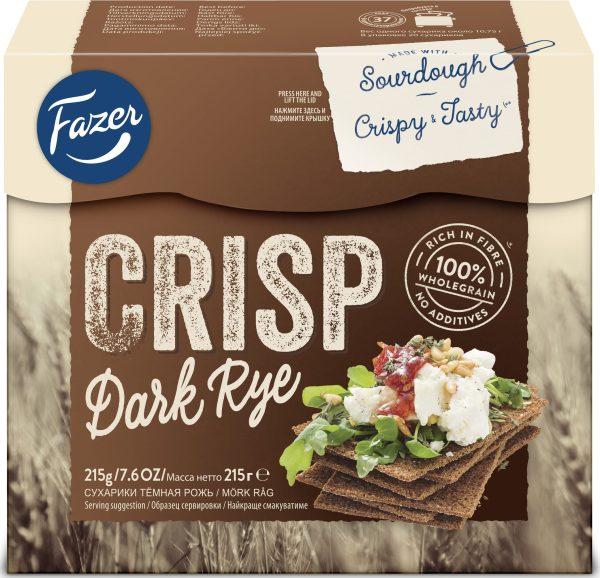 fazer dark rye crisp