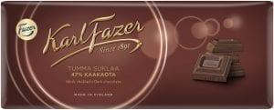fazer dark chocolate bar 47% cocoa