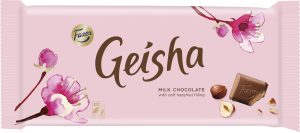 geisha chocolate bar