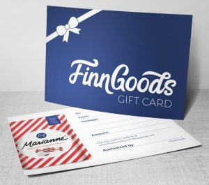 finn goods gift card red