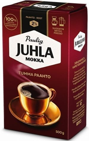 juhla mokka dark roast coffee