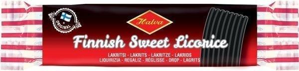 halva finnish sweet licorice bar