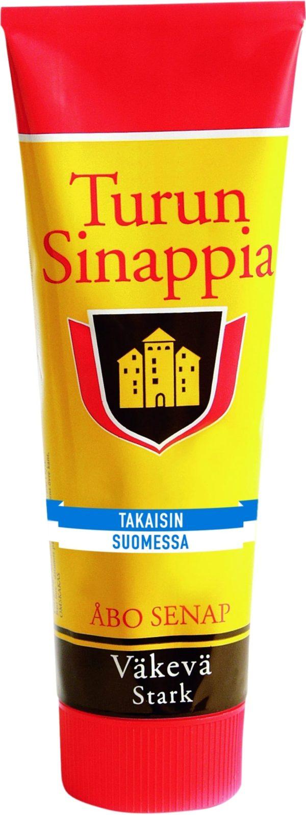 turun sinappi strong mustard