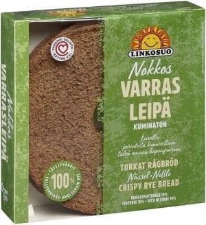 varasleipa nettle crisp rye bread