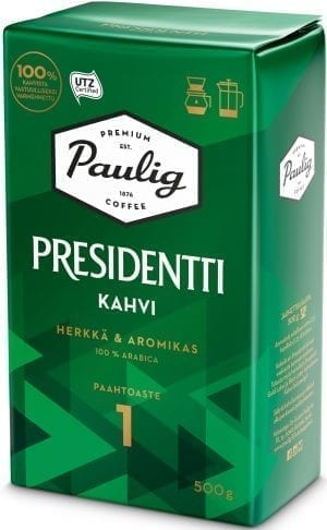 presidentti light roast coffee