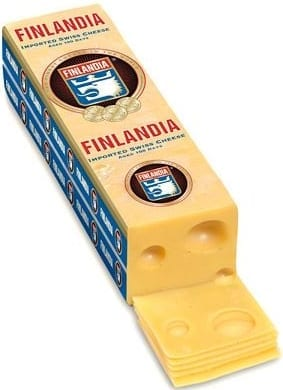 Finlandia emmental swiss cheese