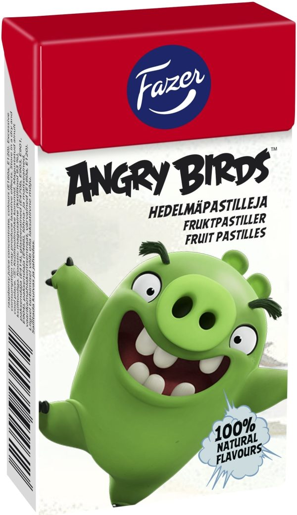angry birds fruit pastille