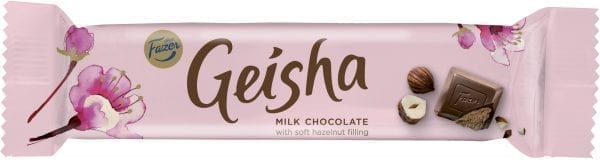 geisha chocolate bar