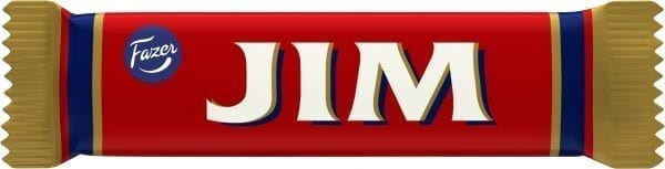 jim chocolate bar