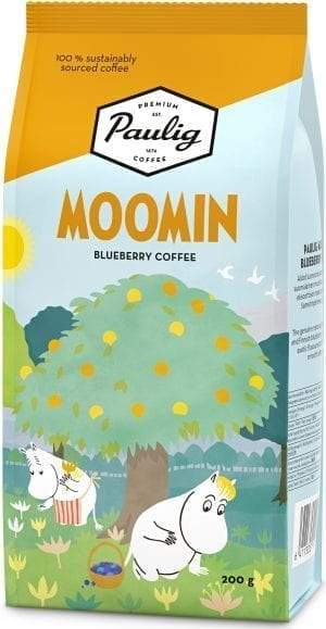 moomin blueberry coffee