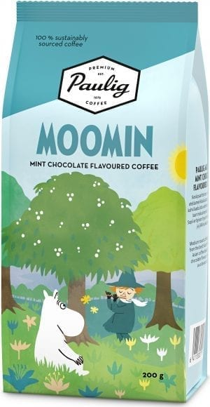moomin mint chocolate coffee