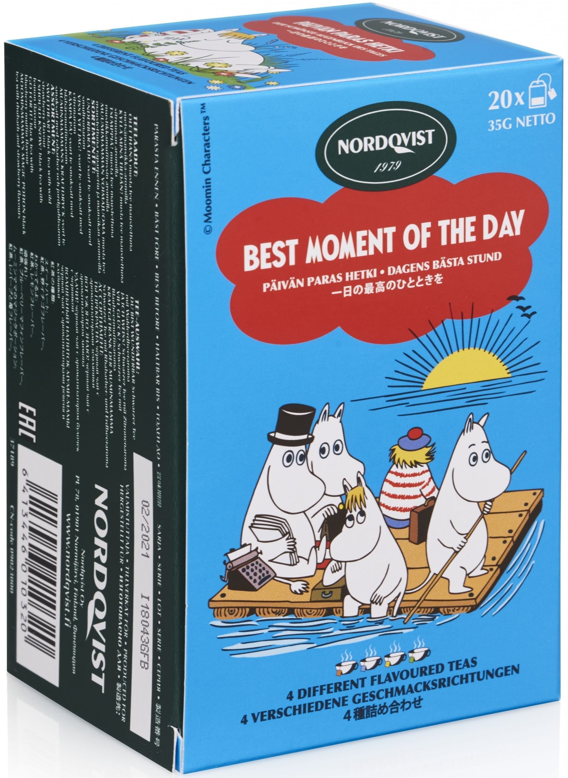 moomin best moment of the day tea