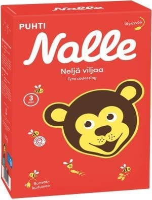 nalle four grain porridge