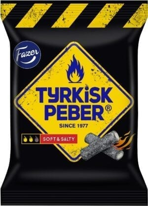 tyrkisk peber soft and salty