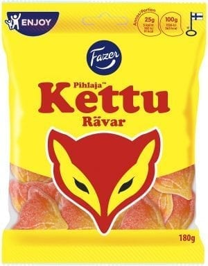 pihlaja kettu fox shaped candy