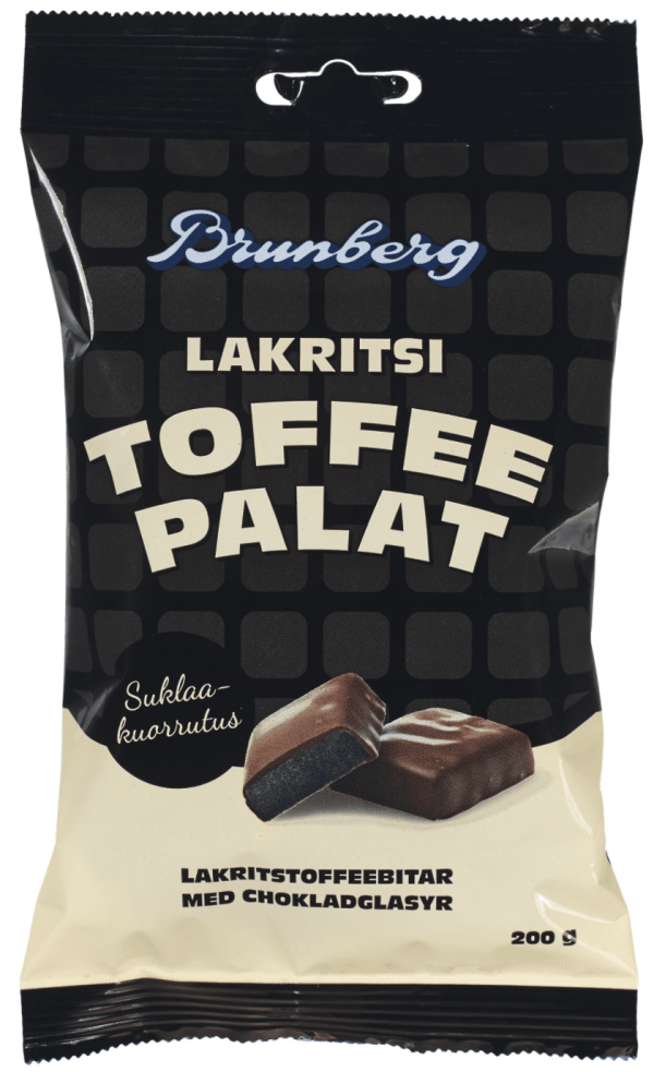licorice toffee pieces