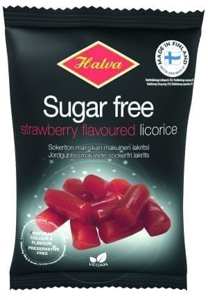 sugar free strawberry licorice