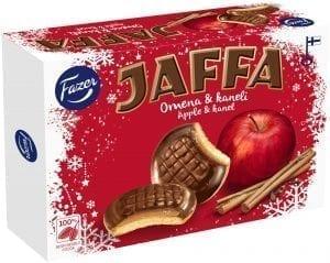 jaffa apple cinnamon cookies