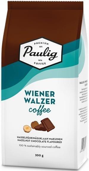 wiener waltzer hazelnut chocolate flavoured coffee
