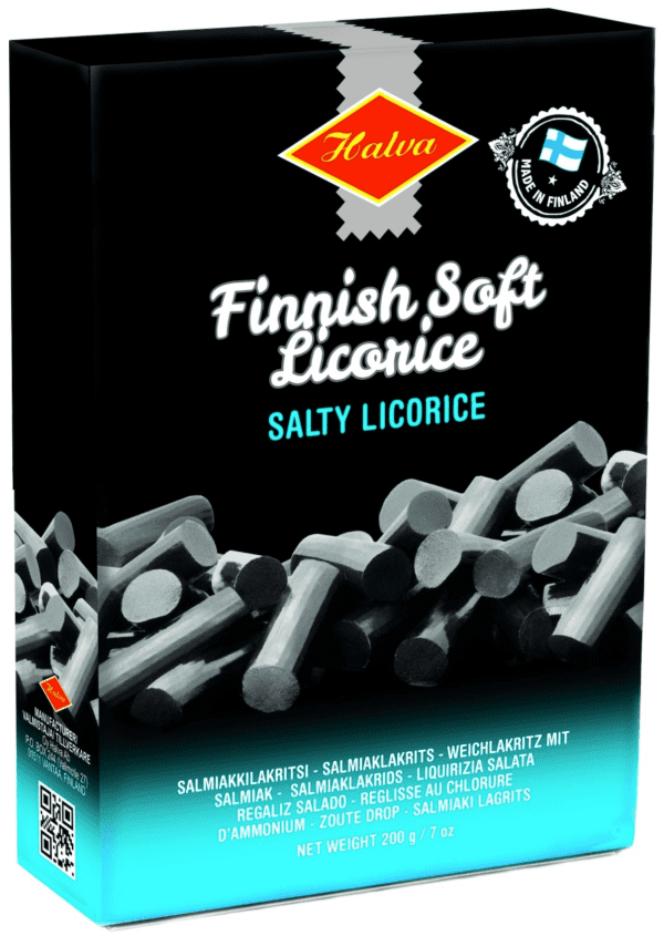 finnish soft salty licorice pieces