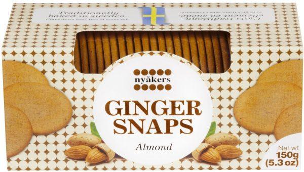 almond ginger snaps
