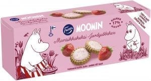 moomin strawberry cookies