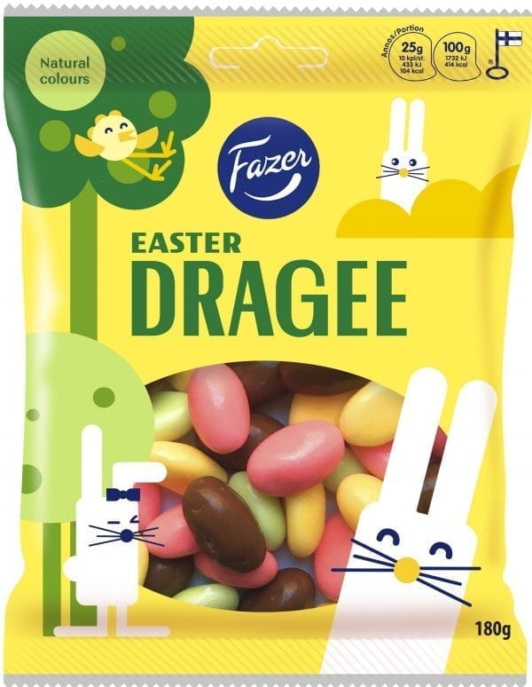 easter dragee candy