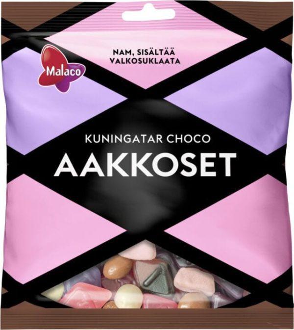 aakkoset queen chocolate candies