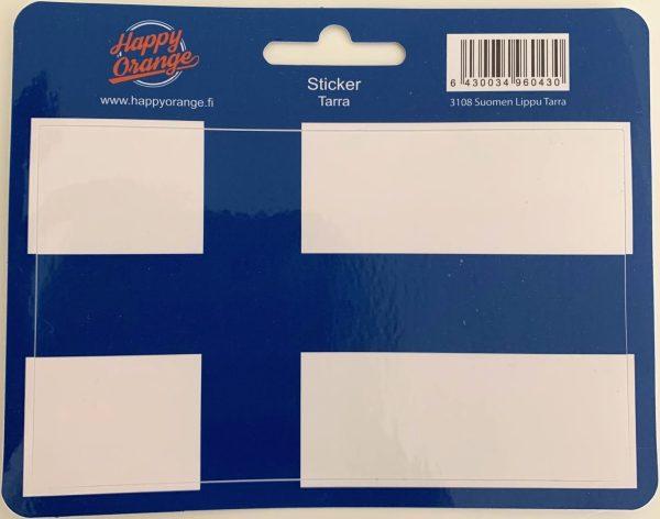 finland flag self-adhesive sticker